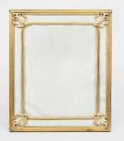 French Gilt Bronze Picture Frame