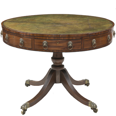 Regency Drum Table, Circa 1810