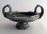 Italian Grand Tour Neoclassical Marble Tazza