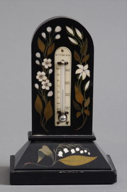Grand Tour Pietra Dura Marble Thermometer