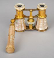Pair Lemaire Mother of Pearl Opera Glasses