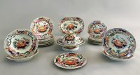 Mason's Ironstone Water Lily Pattern Partial Dinner Service