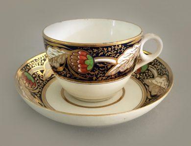 Minton Bone China Tea Cup and Saucer