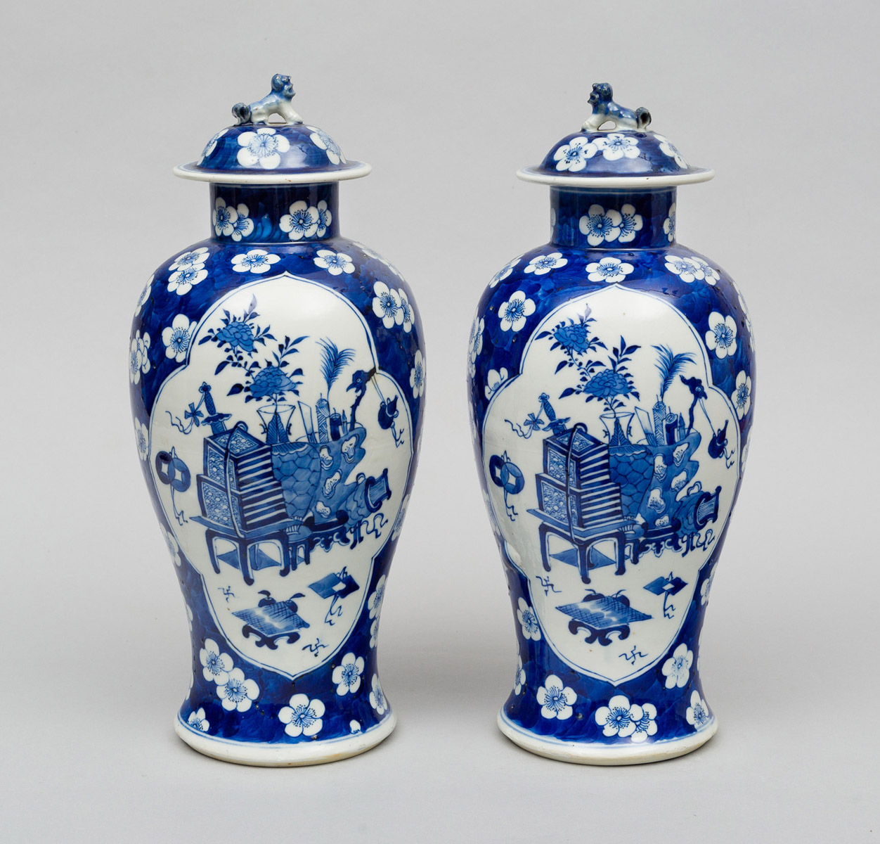 Of chinese vases with lids circa 1870 pair of chinese vases with lids circa 1870 reviewsmspy