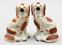 Pair of Stafforshire Dogs, Circa 1870