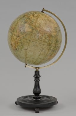 Philips 12 Inch Desk Globe, Circa 1900