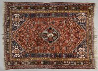 Shiraz Persian Rug, Circa 1950