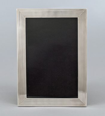 Sterling Silver Photo Frame, Circa 1919