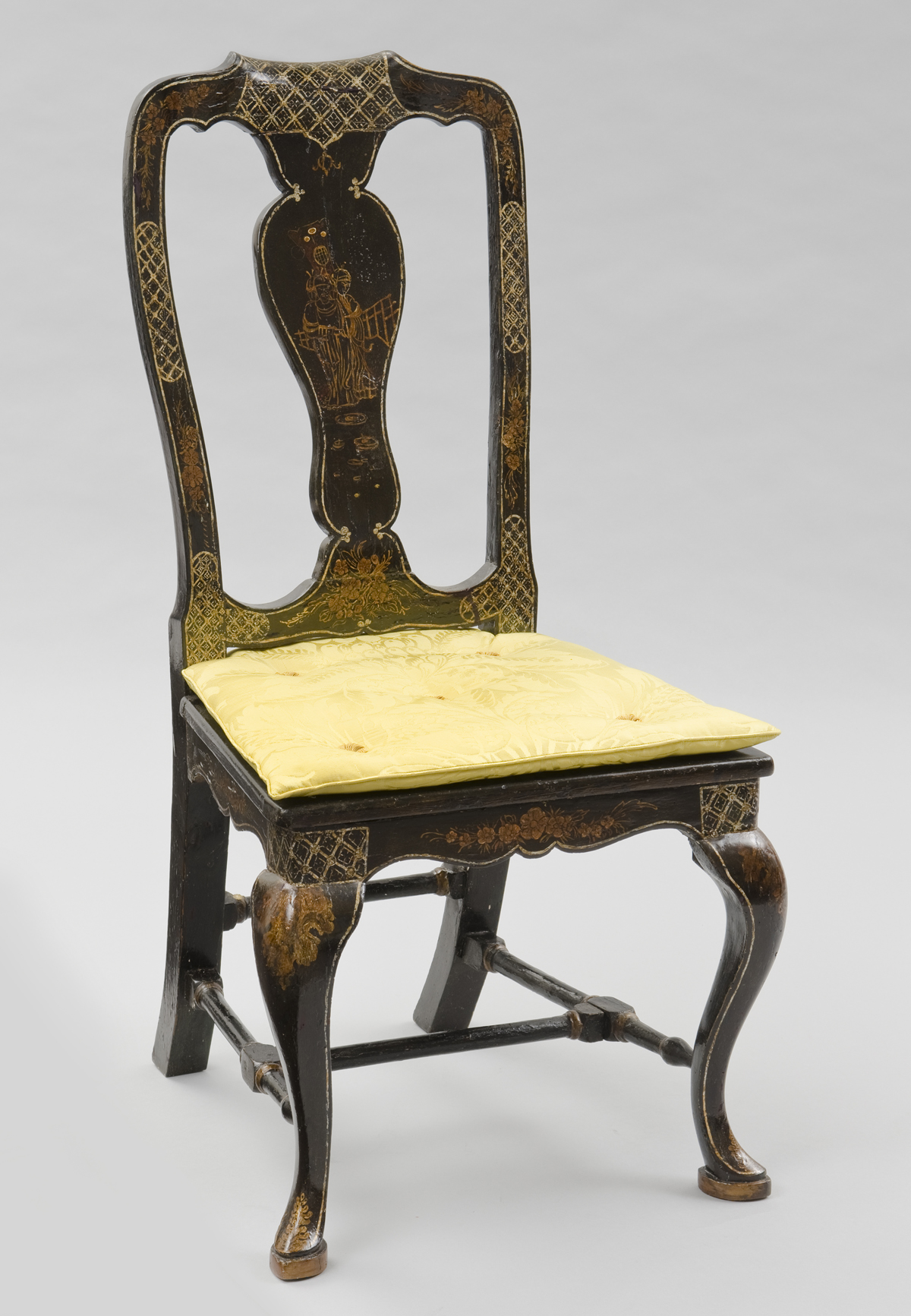 Venetian antique side chairs chinoiserie chair