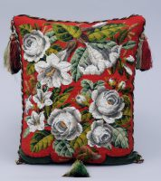 Victorian Beaded Cushion, Circa 1860