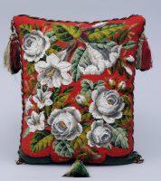 Victorian Beaded Cushion, Circa 1860