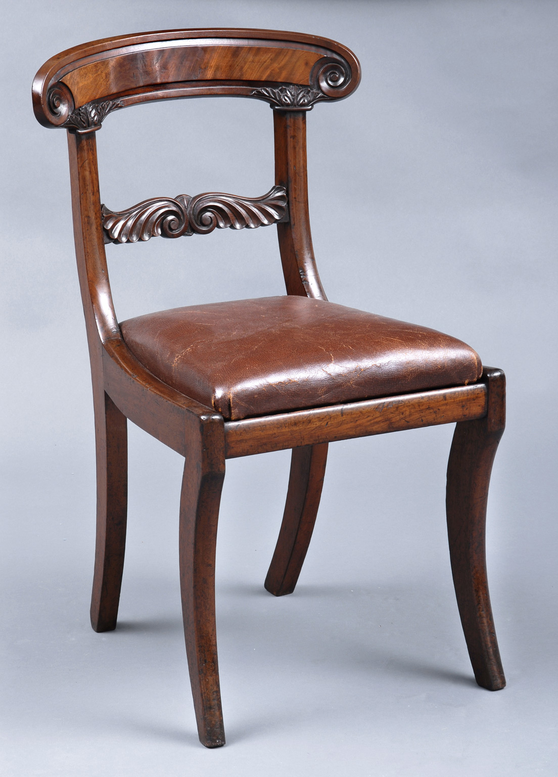 William IV English Antique Side Chair
