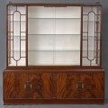 English Antique Art Deco Display Cabinet