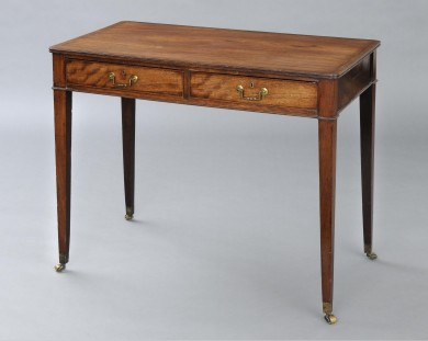 English Antique Period Hepplewhite Writing Table