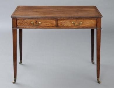 English Antique Period Hepplewhite Center Table