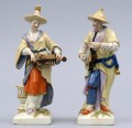 Pair Berlin KPM Porcelain Figurines, Circa 1830