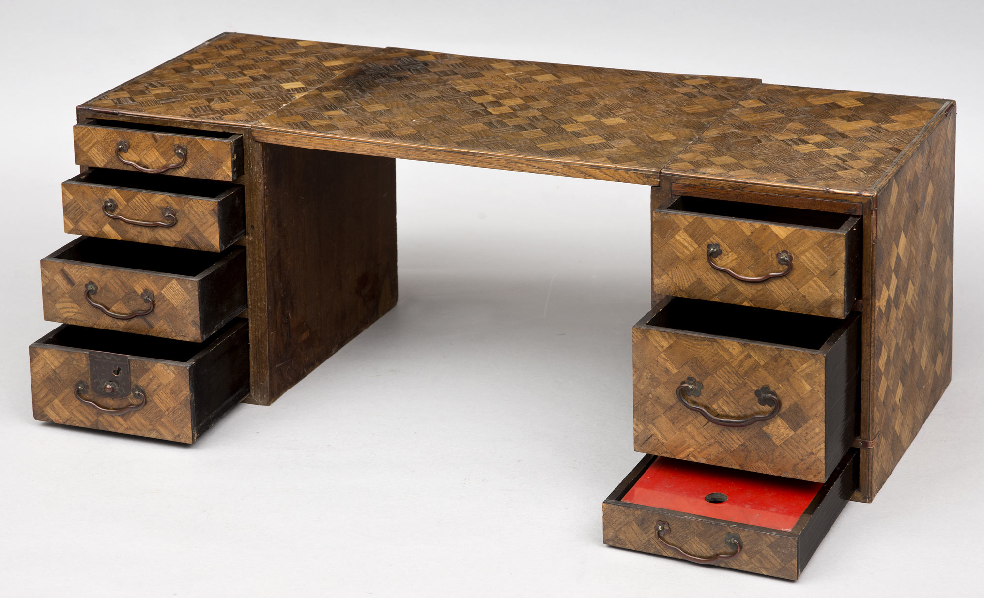 Japanese Traveling Writing Desk Circa 1880