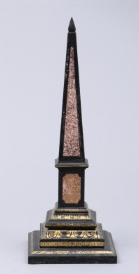 Antique Slate Obelisk, Circa 1840
