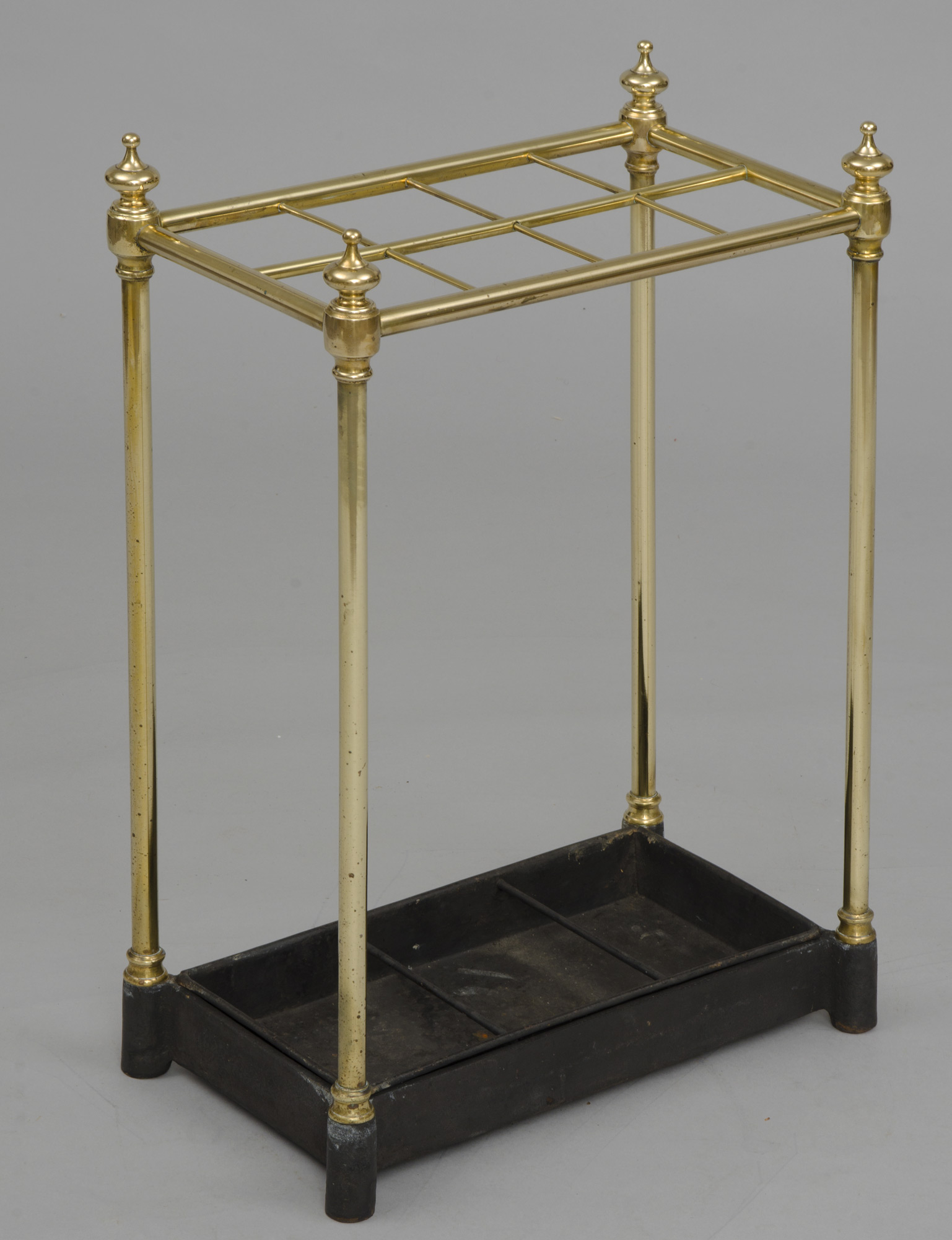 english antique brass umbrella stand, circa 1860 Antique Umbrella Stand