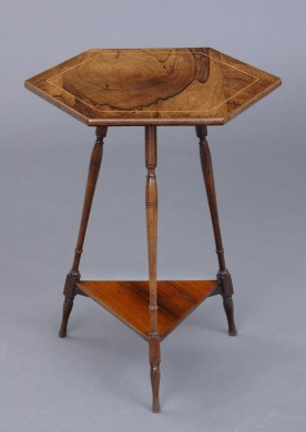 Antique English Victorian Occasional Table