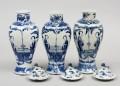 Set of Three Chinese Vases