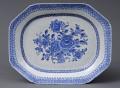 Chinese Blue & White Tureen Stand