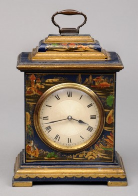 Small Chinoiserie Bracket Clock
