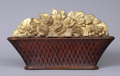 Italian Carved Basket