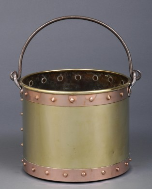 Brass & Copper Bucket