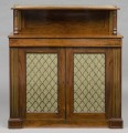 Regency  Brass Inlaid Side Chiffonier