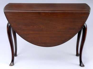 English Antique George II  Drop Leaf Table