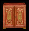 Antique Chinese Export Miniature Cabinet, Circa 1850
