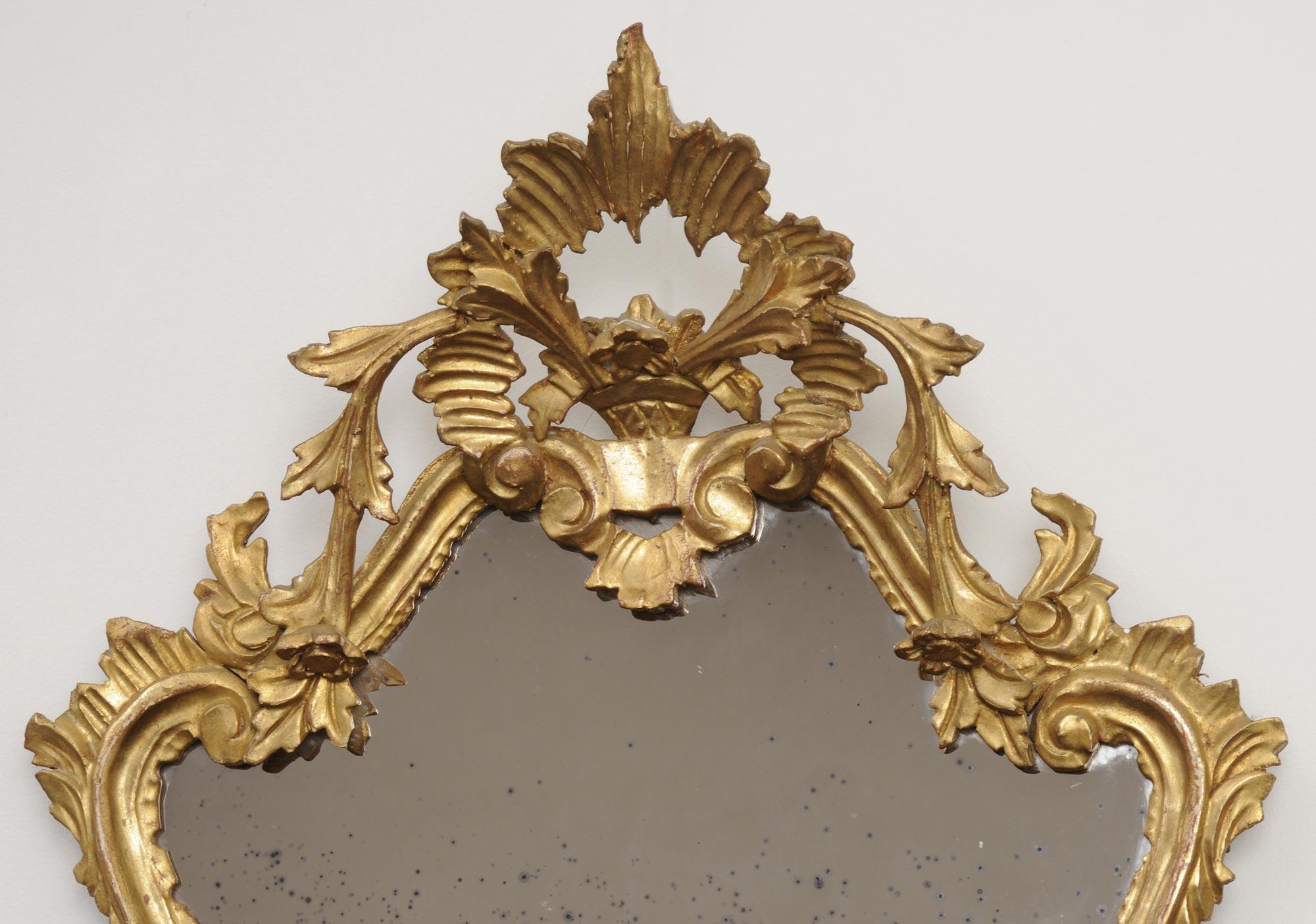 187 Product 187 Pair Italian Rococo Mirrors
