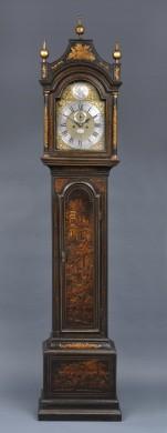 Georgian Japanned Longcase Clock