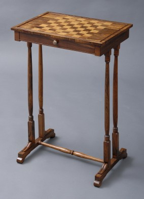 Antique English Games Table