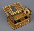 Napoleonic Prisoner of War Straw Work Box