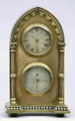 English Gothic Style Mantle Clock