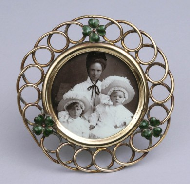 Antique Small Round Loop Frame, Circa 1890