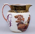English Very Rare Pottery Bacchus & Ceres Jug, Circa 1810