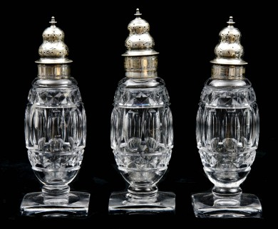Set of American Sugar Sifters, Circa 1800