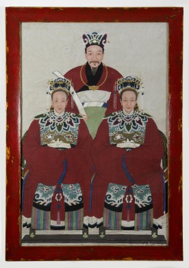 Large Chinese Ancestor Portrait