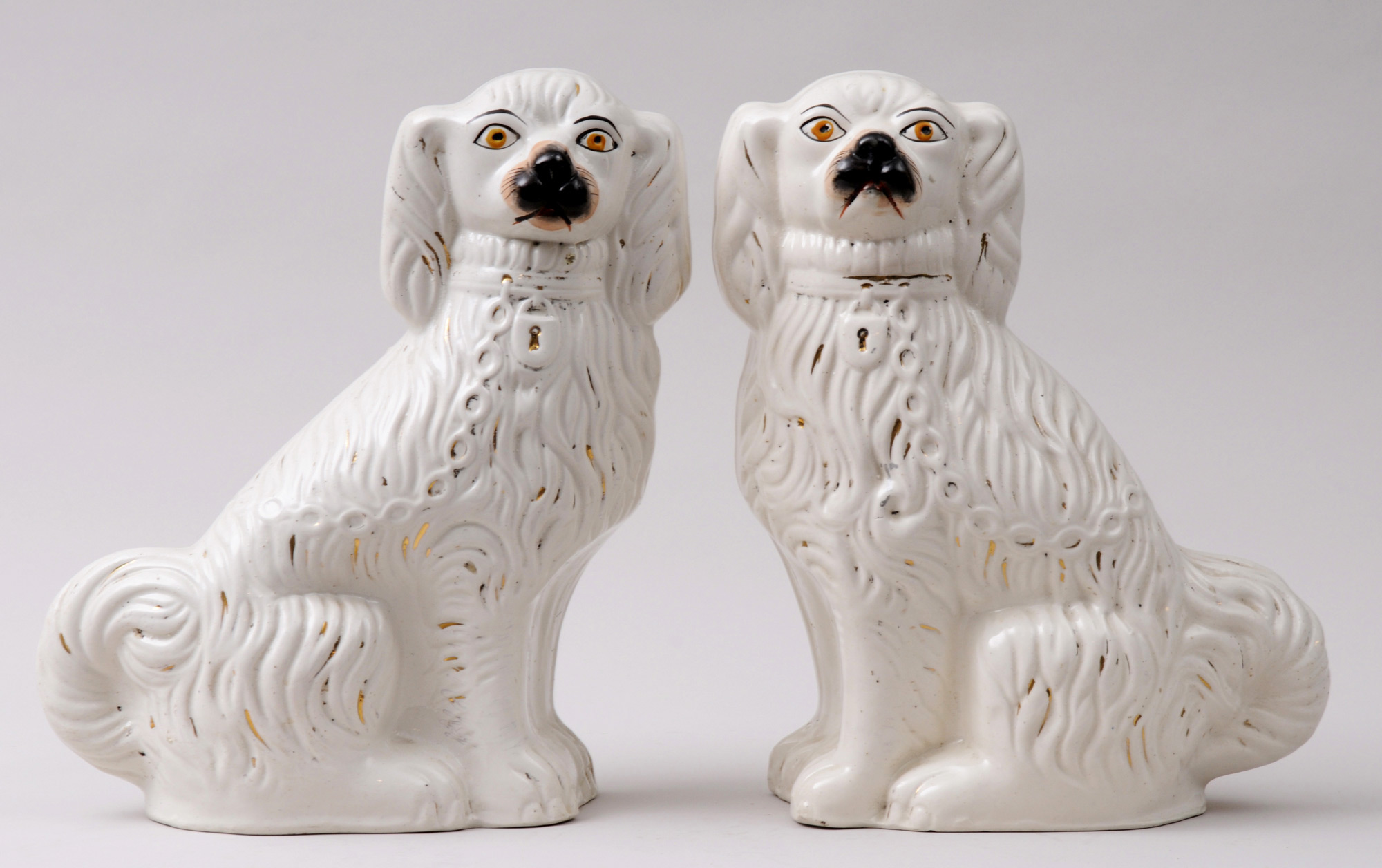187 Product 187 Pair Staffordshire Dogs 1