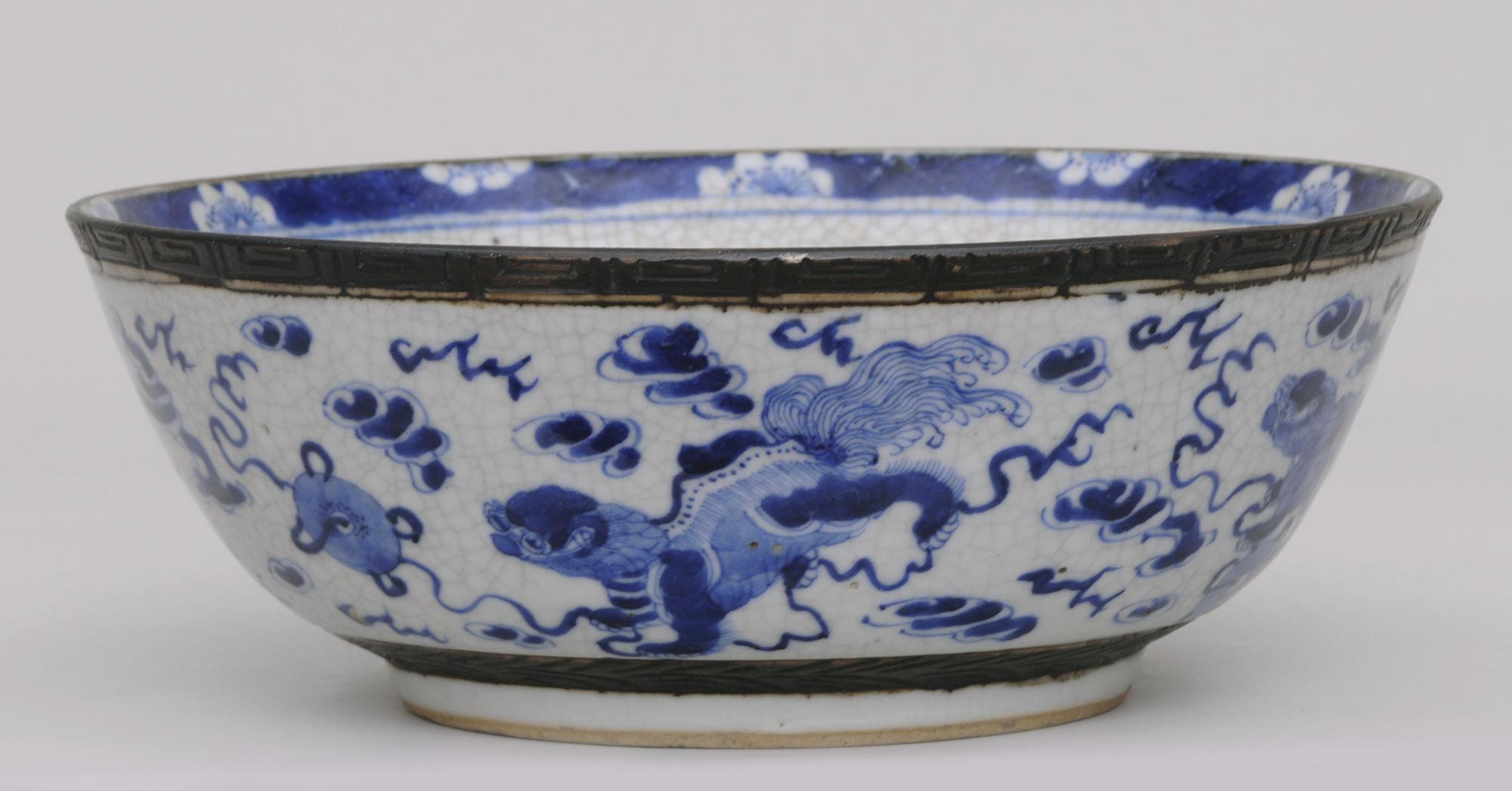 187 Product 187 Chinese Crackle Glaze Bowl
