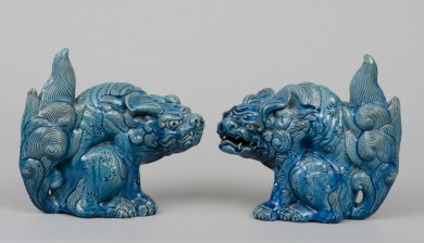 Japanese Pair Foo Dogs