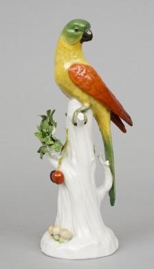 Vienna Porcelain Parrot