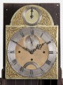 George III Red Lacquered Tall Case Clock, Circa 1760