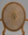 Late 19th Century Hepplewhite Revival Satinwood Armchair, Circa 1880