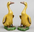 Pair Chinese Yellow Ducks