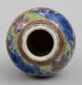 Miniature Chinese Qianlong Period Clobbered Vase, Circa 1770