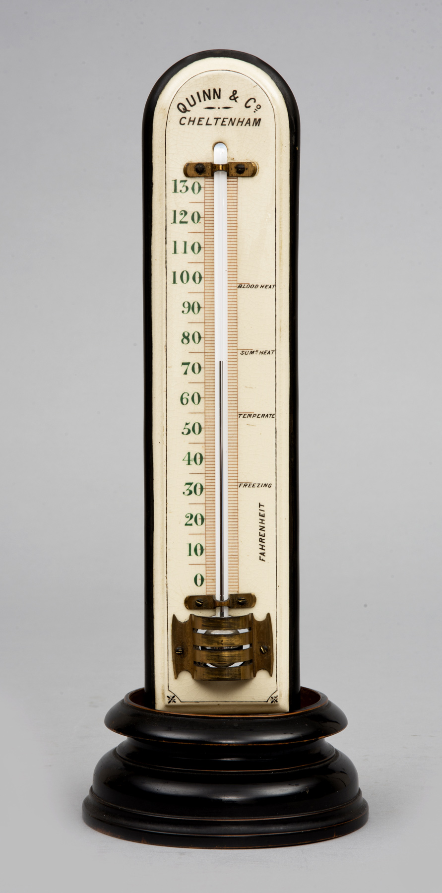 187 Product 187 Antique Large Thermometer On Stand Circa 1880